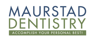 Maurstad Dentistry logo with white background. Omaha TMJ dentist